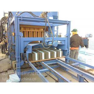 供应福帆混凝土自保温砌块生产线  泡沫混凝土夹心四孔砌块设备