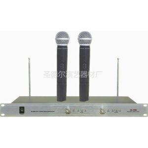 供应供应DS-700B一拖二无线麦克风,专业卡拉OK、演出麦克风,频率范围:VHF200-280MHZ