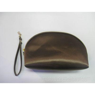 经典立体型手拎化妆拉链袋可拆卸 日用品收纳手拿包女包系列加工