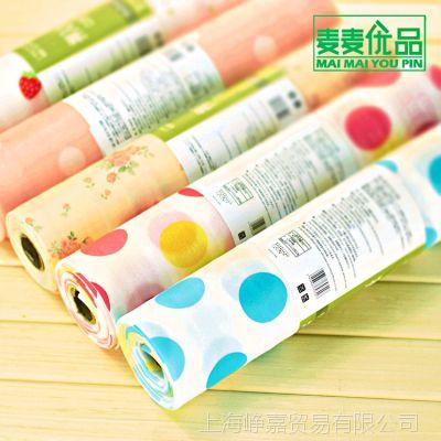 一件代发 麦麦优品花卉PET韩版颜色随机防潮防尘垫抽屉垫衣柜垫