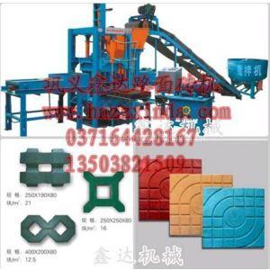 供应QT3-35全自动液压砌块砖机更换模具可一机多用