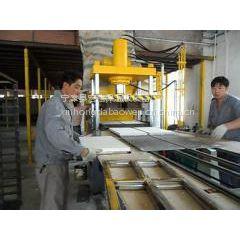 珍珠岩双面粘布机设备鑫宏达标准功率强大