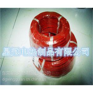 供应专业生产优质硅胶发热线、电热线、加热线