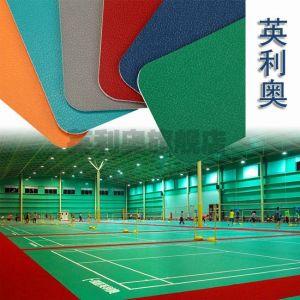 供应室内羽毛球馆专用塑胶小石纹塑胶PVC专业铺设/天津塑胶地板工程专业承接