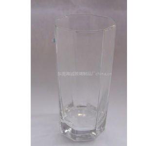 供应海成 机吹玻璃酒杯,简约马克杯