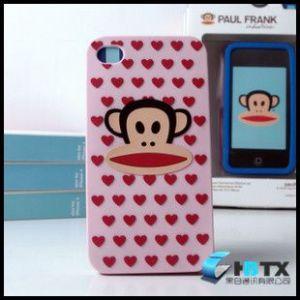 供应iphone 4 外壳大嘴猴硅胶套手机保护套