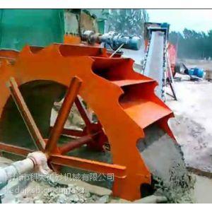 供应破碎洗沙制砂生产线用的轮斗式水洗砂子设备首先销售型号kdjx厂家