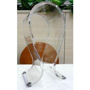 亚克力耳机架,高档透明耳机架,头戴耳机架,亚克力工艺品