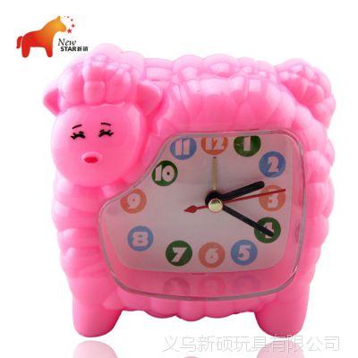 厂家直销 创意可爱喜羊羊闹钟 居家日用简约台钟