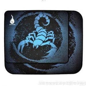 供应地狱火HELL盒装蝎子王 LOL CF游戏鼠标垫超大号鼠标垫操控版