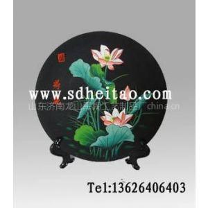 供应彩陶看盘,彩陶工艺品,黑陶纪念品