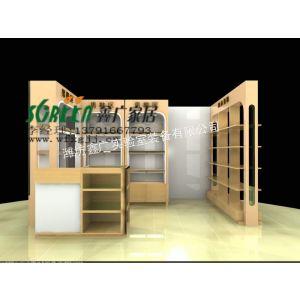 供应潍坊服装展柜|展示柜|展台|展示架|柜台|货架0915