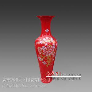 供应中国红大花瓶生产厂家