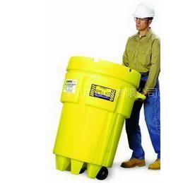 供应移动式泄漏应急处理桶 脚轮式油品化学品防泄漏储运桶 防化桶