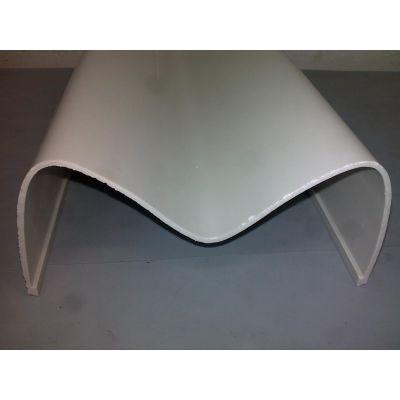 供应PVC天线罩,押出加工,押出产品