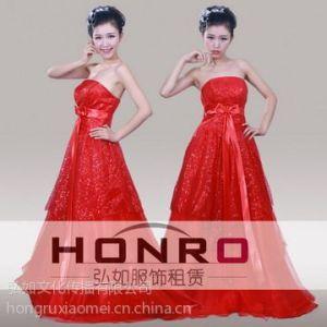 供应杨浦主持人服装出租定做 上海丝质高档晚礼服 主持人晚礼服出租
