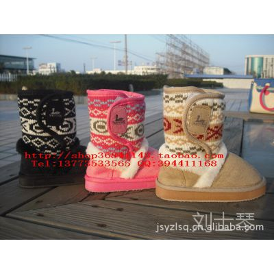 韩国原单 NORTH DUCK 男童女童雪地靴中小儿童雪地靴 保暖靴