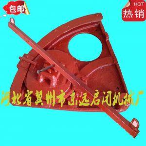 供应贵州铜仁用2013新款扇形闸门 转动闸门 DN400双向转动闸门
