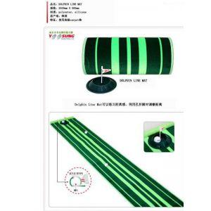 供应韩国线条golf推杆练习毯/推杆练习垫/高尔夫用品/推杆练习器