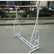 供应服装货架 晾衣架 单杠衣架 挂衣架 北京货架厂