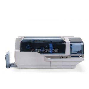 供应p430i卡片打印机 斑马双面打卡机,自动双面PVC卡打印机