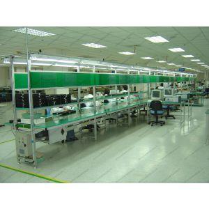 供应带灯架皮带机—电子装配线—装配流水线—郑州水生机械自动化设备