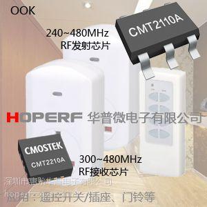 无线接收芯片,全球独创RF可烧写芯片CMT2219A厂家直销