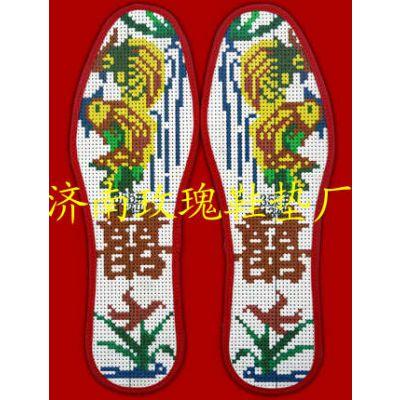 纯手工十字绣鞋垫图案大全生产厂家舒适纯手工十字绣鞋垫图案大全