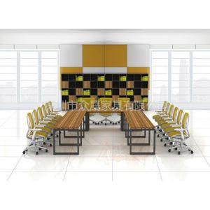 供应深圳众家具Produce-WS003板式组合会议桌