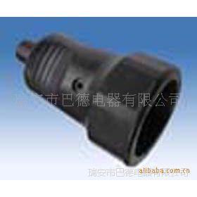 黑色防水接线插头插座组合套之插座,另有配套插头和其他系列等