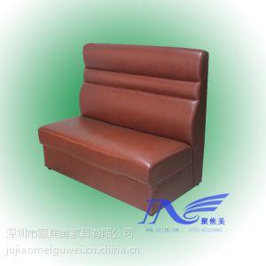 供应茶餐厅家具 沙发卡座定做 样式可挑选深圳聚焦美家具