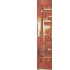 TX-ZA-05非玻璃公寓铜门-单扇