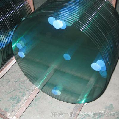 东莞晶达深加工玻璃厂家批量供应6mm餐桌茶几钢化玻璃定制台面