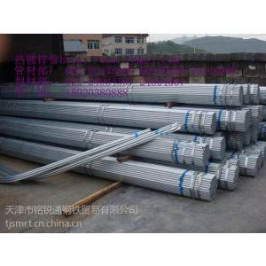 供应DN20镀锌管壁厚2.5毫米耐压是多少