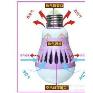 供应塑料球泡灯外壳石墨散热器