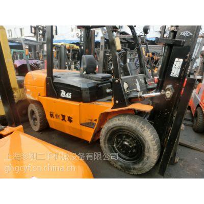 二手合力3吨h2000叉车,杭州4吨叉车原版油漆二手叉车