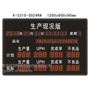 供应HT-PLC01生产监控看板,产品控制管理看板