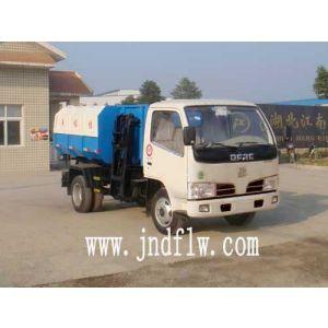 湖北江南专用特种汽车厂家销售垃圾车  挂桶式垃圾车