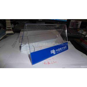 供应广州有机玻璃制品通讯公司广告台牌