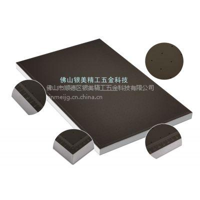 供应丝印机真空吸附平台YM-800X600X35.5银美精工真空吸气平台