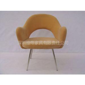供应沙里宁休闲椅 创意现代椅子 沙里宁家具 北欧家具 雅帝家具 布艺餐椅 欧式餐椅 深圳布艺椅厂家