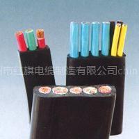 红旗牌硅橡胶扁电缆 YGCB YGCB-YVFR