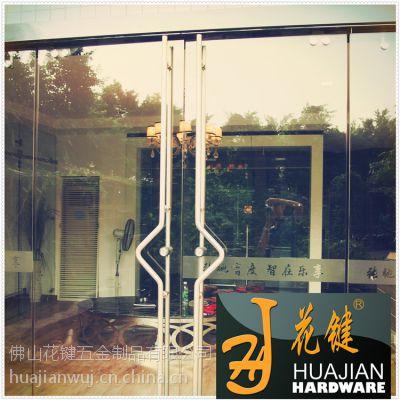 佛山花键专业拉手锁 德国精美工艺304不锈钢玻璃大门办公室移门专用拉手锁