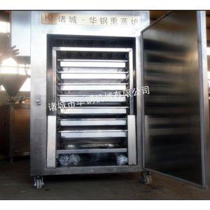 供应供应诸城华钢烟熏炉,XZ-150型熏鸡烟熏炉设备