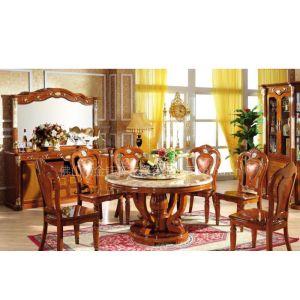供应T203C#实木圆餐台,餐椅