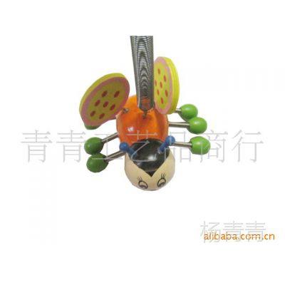 供应木制玩具/木制工艺品/弹簧木偶/弹簧人/跳娃