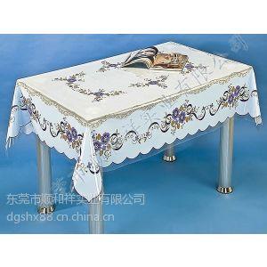 供应塑料桌布,PVC透明印花塑料桌布,PVC透明桌布厂家