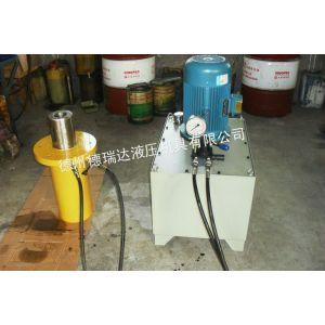 供应供应北京市政工程60吨空心千斤顶,德瑞达管道改造高压60吨空心千斤顶