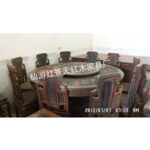 老挝大红酸枝圆餐桌,1.80米餐桌,古代圆餐桌,仙游圆餐桌生产厂家