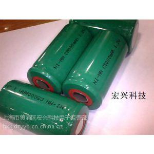 供应格瑞普 1.2V 2号镍氢充电电池 5000mAh 可做3.6V 6V 12V等电池组